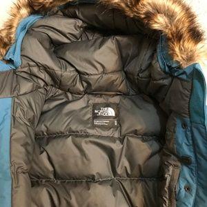 037c4e74e North Face Womens MEDIUM Dunagiri Down Jacket Teal NWT